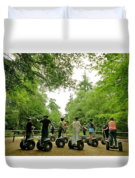 Forest Segway Duvet Cover