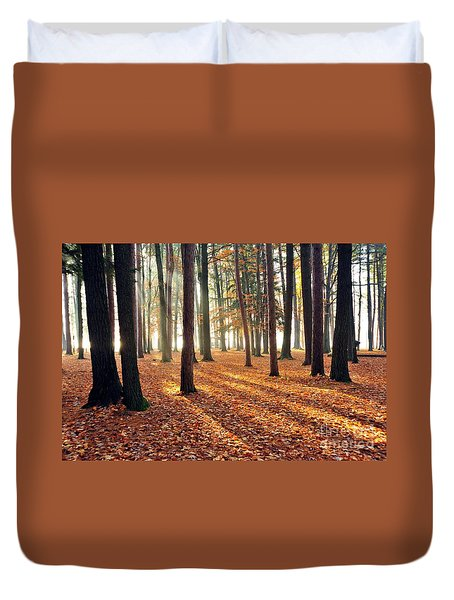 Forest Shadows Duvet Cover