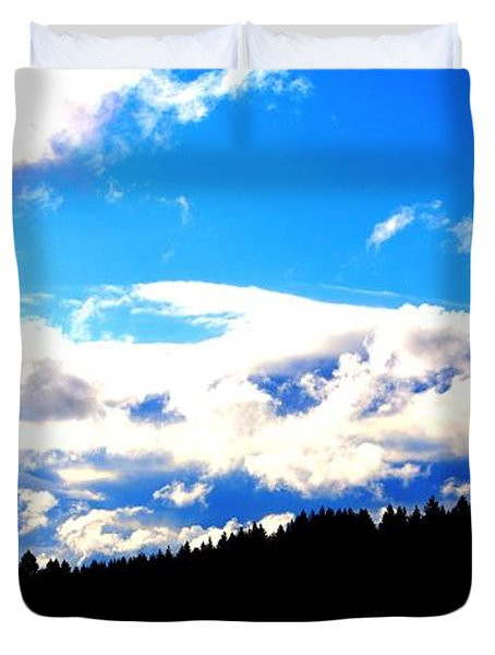 Forest Storm Duvet Cover