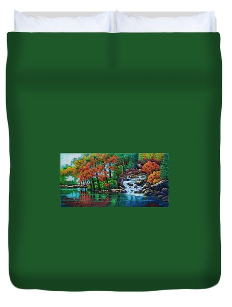 Forest Stream II Duvet Cover