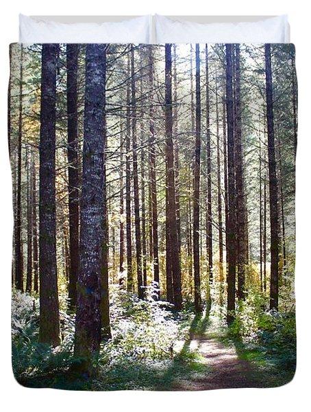 Forest Stroll Duvet Cover