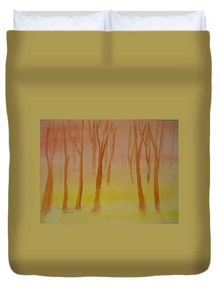 Forest Study Duvet Cover