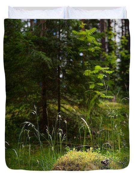 Forest Tales Duvet Cover by Konstantin Dikovsky
