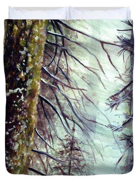 Forest Talk Duvet Cover