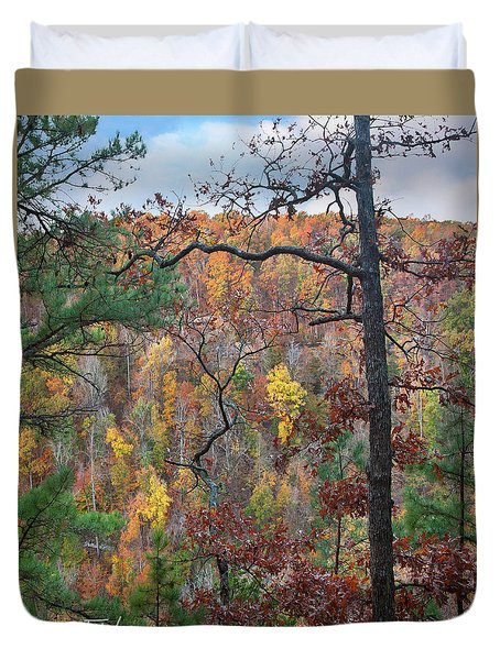 Forest Duvet Cover by Tim Fitzharris