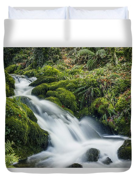 Forest Treasures  Duvet Cover