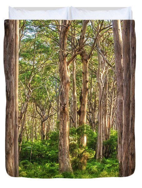 Forest Twilight, Boranup Forest Duvet Cover