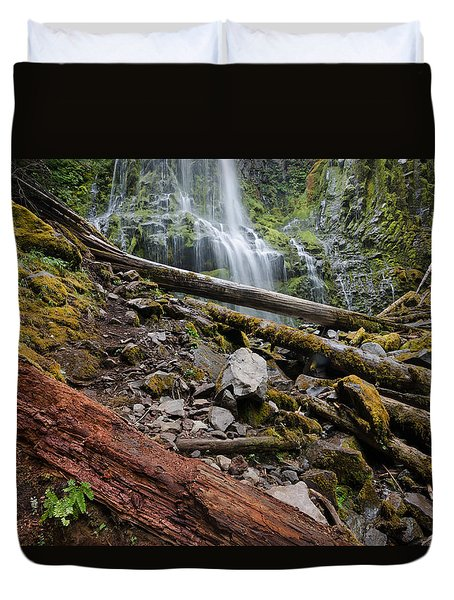 Forest Vibrance Duvet Cover
