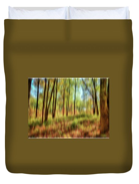Forest Vision Duvet Cover