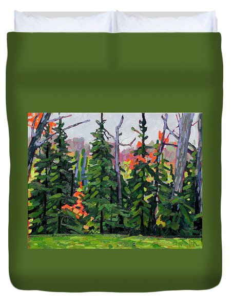 Forest Wall Duvet Cover