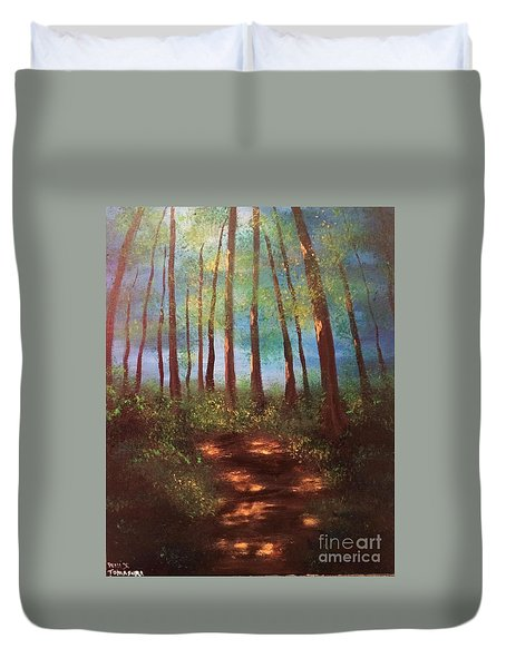 Forests Glow Duvet Cover
