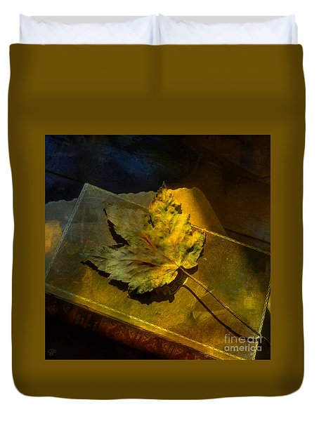 Duvet Cover featuring the photograph Forever Autumn by LemonArt Photography