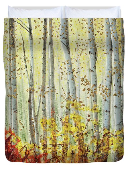 Forever Autumn Duvet Cover by Stanza Widen