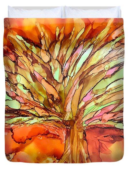 Forever Autumn Duvet Cover