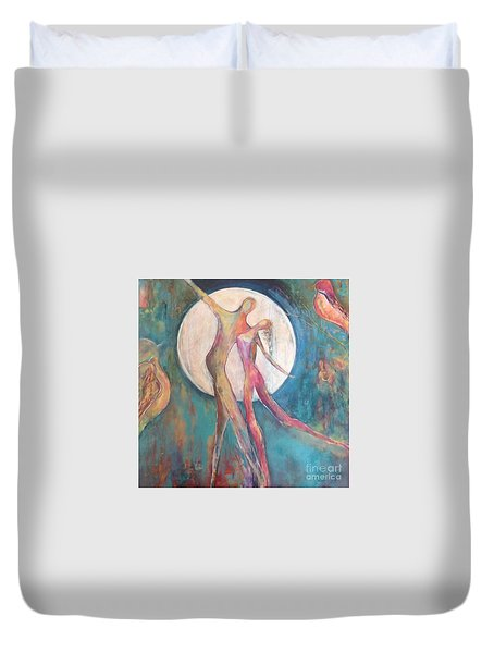 Forever Dance Duvet Cover