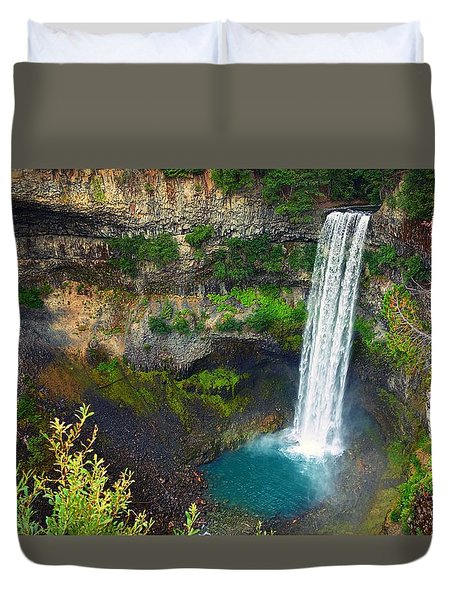 Brandywine Falls, Bc Duvet Cover by Heather Vopni