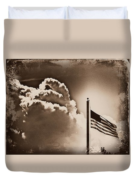 Duvet Cover featuring the photograph Forever Freedom by Aurelio Zucco