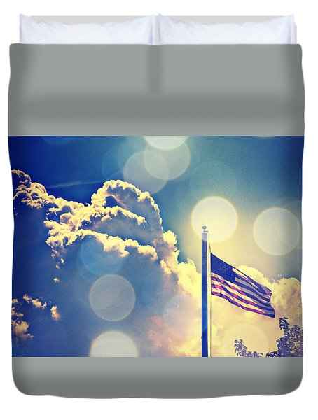 Duvet Cover featuring the photograph Forever Freedom II by Aurelio Zucco