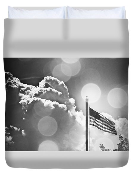 Duvet Cover featuring the photograph Forever Freedom IIi by Aurelio Zucco