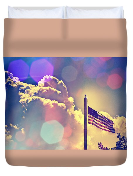 Duvet Cover featuring the photograph Forever Freedom Iv by Aurelio Zucco