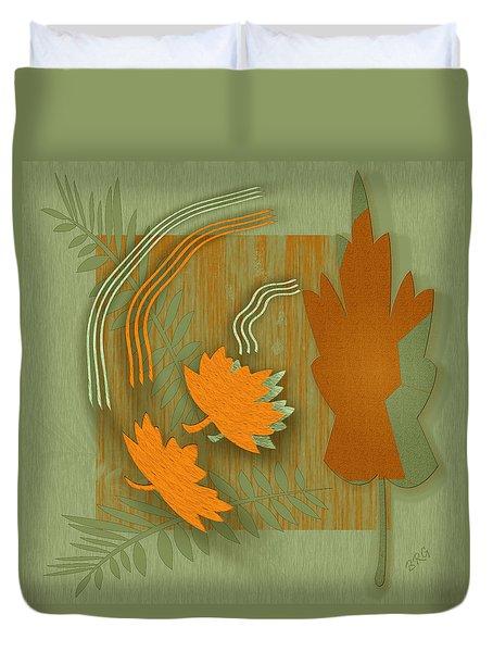 Forever Leaves Duvet Cover by Ben and Raisa Gertsberg