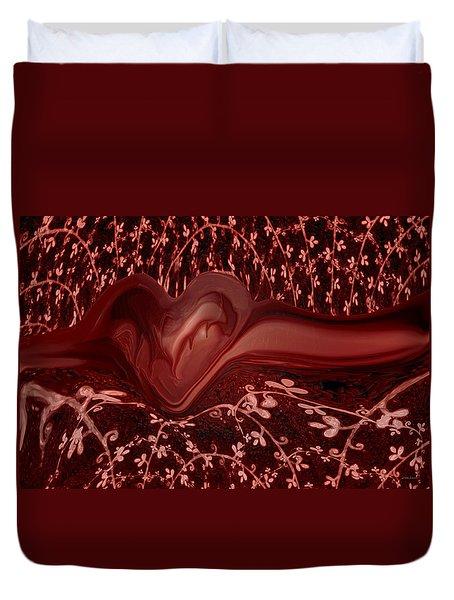 Forever Love Duvet Cover by Linda Sannuti