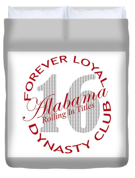 Duvet Cover featuring the digital art Forever Loyal Dynasty Club by Greg Sharpe