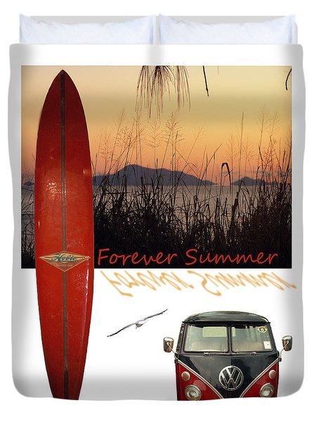 Forever Summer 1 Duvet Cover