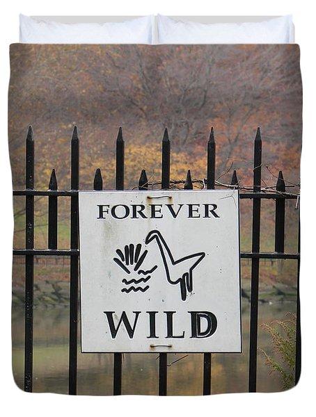 Forever Wild Duvet Cover