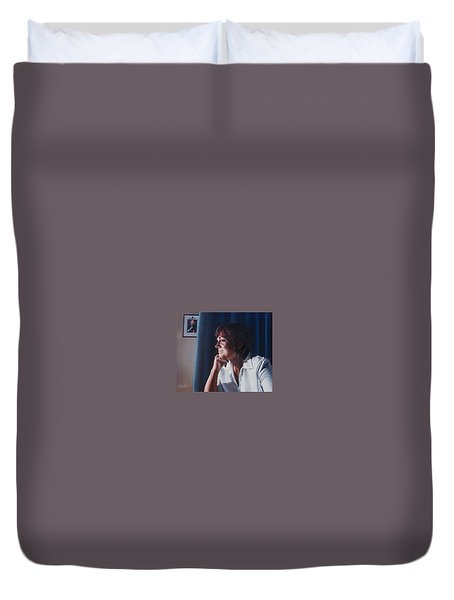 Forever Young Duvet Cover by Tim Johnson