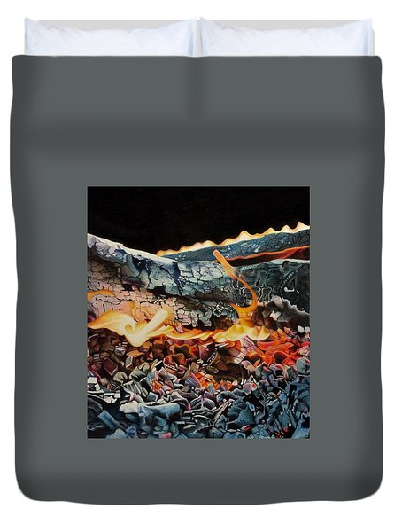 Forge Duvet Cover by David Hoque
