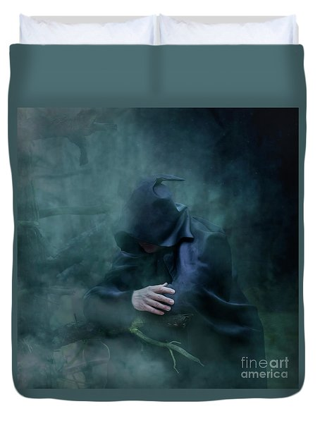 Forgetting  Duvet Cover by Agnieszka Mlicka