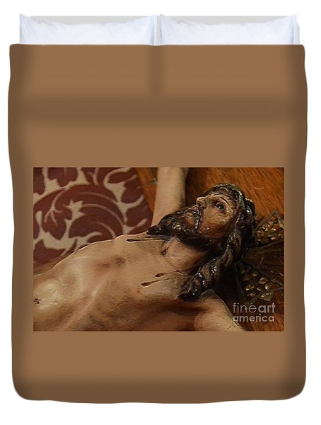 Forgive Them Duvet Cover