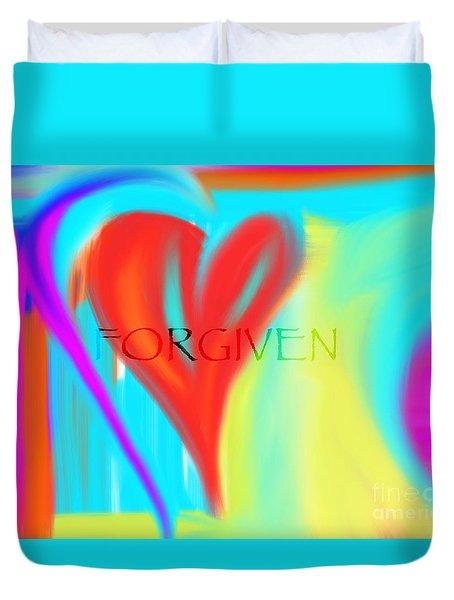 Forgiven Duvet Cover