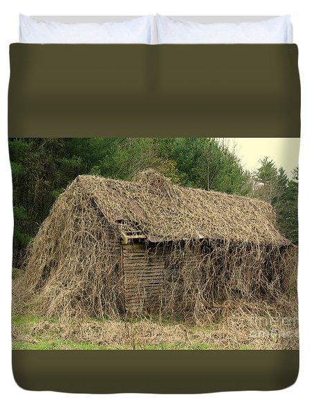 Forgotten Cabin Duvet Cover