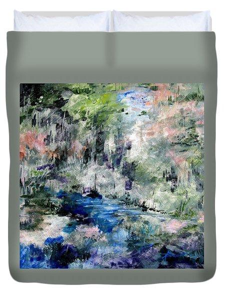 Forgotten Creek  Duvet Cover