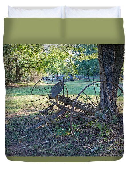 Forgotten Farm Duvet Cover by Kevin McCarthy