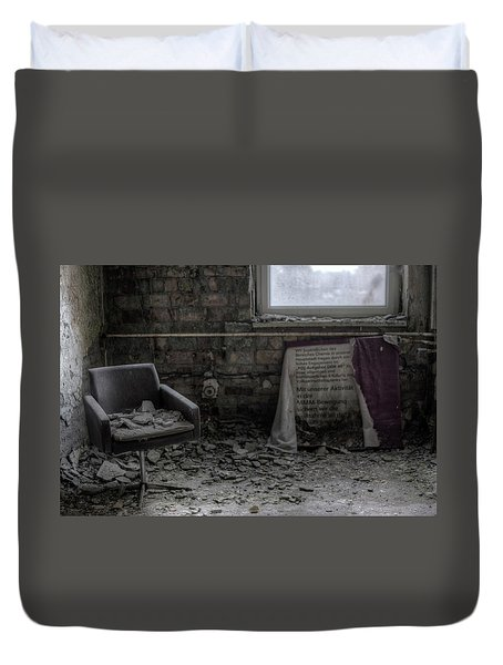 Forgotten Ideologies Duvet Cover by Nathan Wright