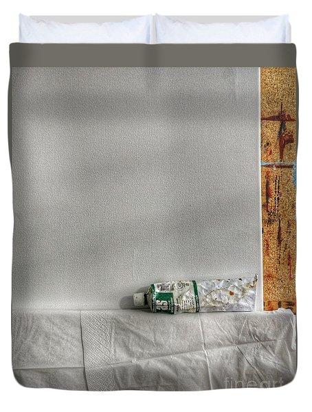 Forgotten Duvet Cover by Isabella F Abbie Shores FRSA