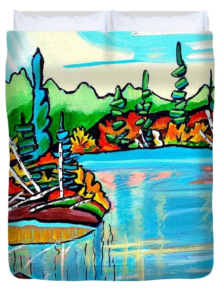 Forgotten Lake Duvet Cover