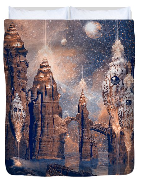 Forgotten Place Duvet Cover