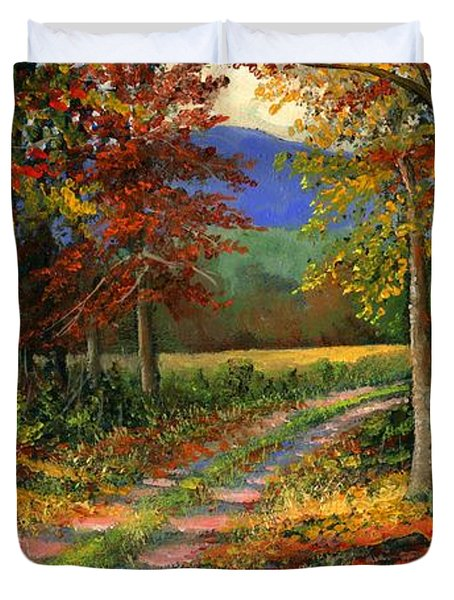 Forgotten Road Duvet Cover