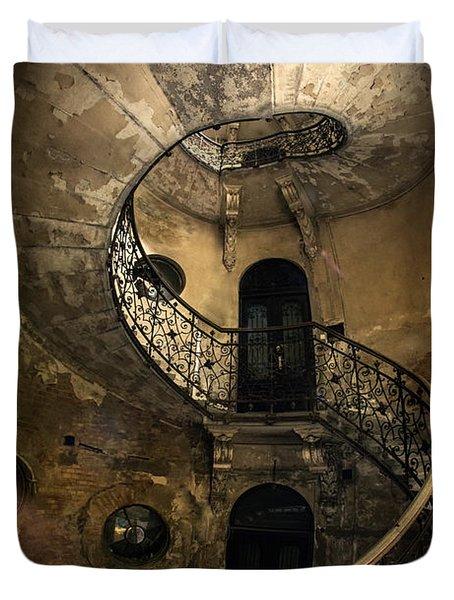 Forgotten Staircase Duvet Cover