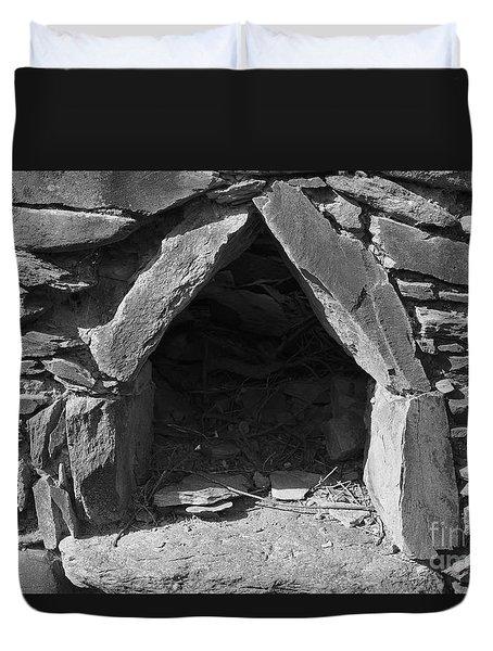 Forgotten Stone Oven In Alentejo Duvet Cover by Angelo DeVal