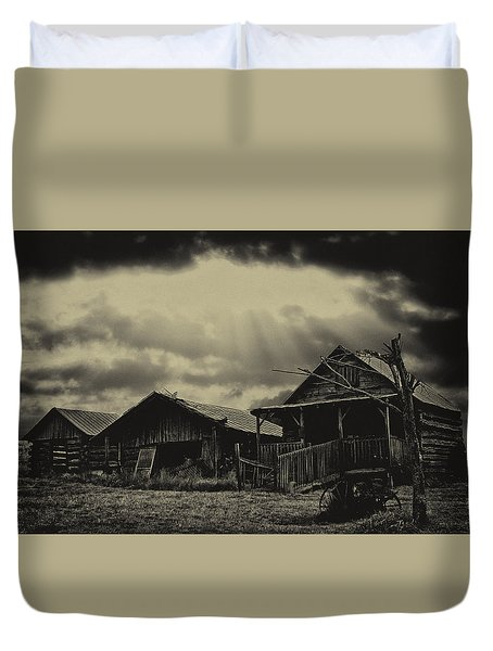 Forgotten Years Duvet Cover by B Wayne Mullins