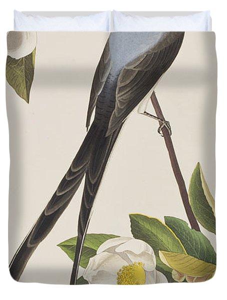 Fork-tailed Flycatcher  Duvet Cover by John James Audubon