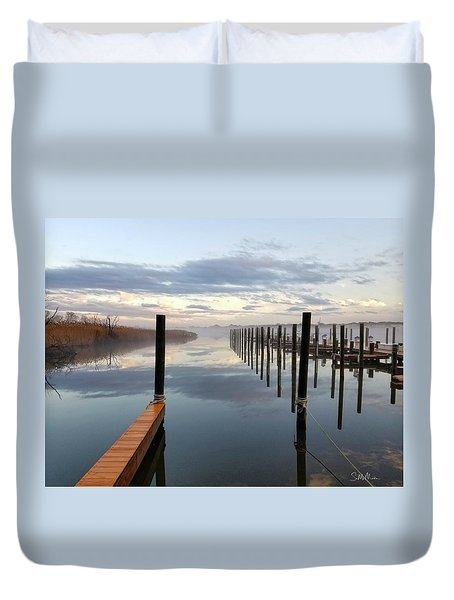 Forked River Four Duvet Cover