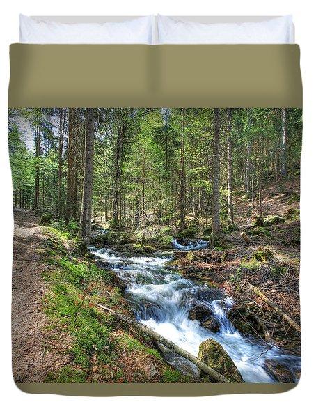 Forked Stream Duvet Cover