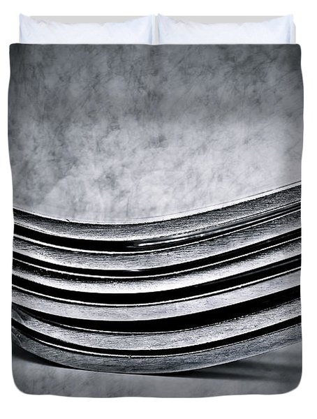 Forks - Antique Look Duvet Cover by  Onyonet  Photo Studios