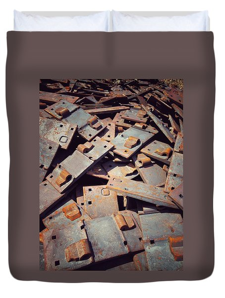 Former Joints Duvet Cover